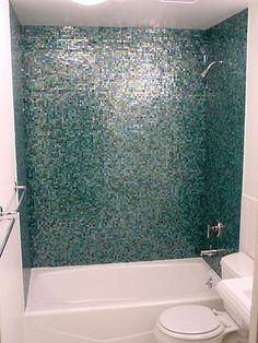 Bathroom Mosaics-omg!!  i love these tiles