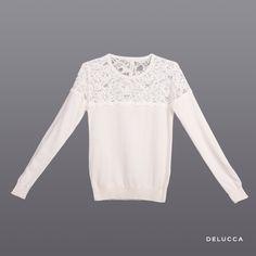 Sweater Nea Crudo · Lace Sweater