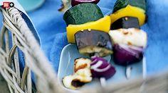 BILD-BBQ-AKADEMIE, FOLGE 10 Veggie-Schaschlik braucht nur wenig Hitze