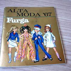 CATALOGO,CATALOGHINO  ALTA MODA TRE ESSE FURGA  SHEILA SYLVIE SUSANNA 1967 RARO!