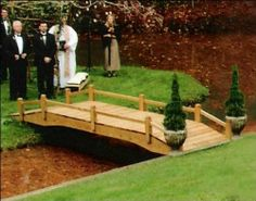 6x12 Treated Pine Covepoint Single Rail Bridge by Fifthroom. $2199.00. Please Note: Item delivered by motor freight (common carrier).Customer may need assistance to unload. Ships in an easy assembly kit form. Features: Rounded & Sanded Edges. Capacity: 2200 lbs. Free Shipping. This single rail bridge is a wonderful bridge and is designed to accent any garden or pathway. Its hand crafted from wolmanized natural select wood. It is built to beautify and to last. All Br...