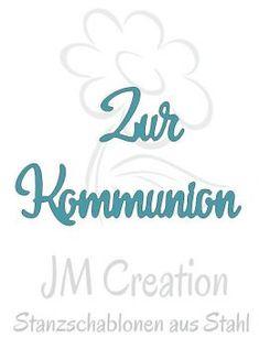 Stanzschablone - Zur Kommunion