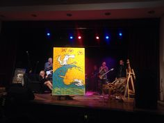 live painting, ceky point