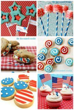 Fourth of July yummy treats