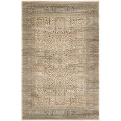 Safavieh Vintage Ivory/Light Blue Area Rug & Reviews | Wayfair