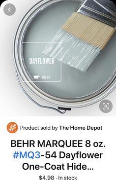 Room Paint Colors, Interior Paint Colors, Paint Colors For Home, Wall Colors, House Colors, Painting Tips, House Painting, Behr Paint, Paint Swatches