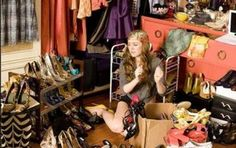 cluttered closet ... consign it!