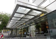 architectural metal canopy - Google Search