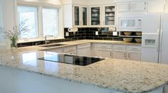 Quartz_ the fact that they're stain, scratch, heat, and impact resistant makes quartz one of the most popular countertop materials -