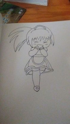 Second attempt at drawing a chibi