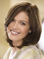 Mandy Moore is so cute. Cute hair cut here, too.