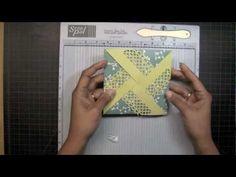 APG - Decorative Border Folded Envelope using a score pad