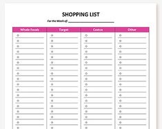 173 Item Customizable Printable Weekly by HomemakersCompanion