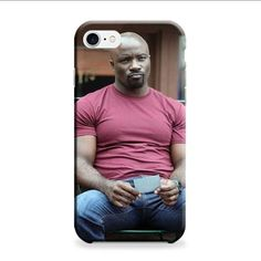 Luke Cage Red Shirt iPhone 7 3D Case
