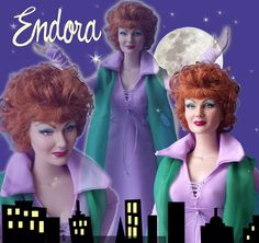 Bewitched - Endora Doll... I know this is way too much, but it's too awesome!