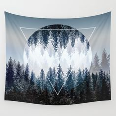 Buy Woods 4 Wall Tapestry by Mareike Böhmer Graphics. Worldwide shipping available at Society6.com. Just one of millions of high quality products available.