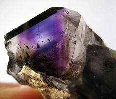 Brandenburg quartz is one of the most powerful crystals because it contains several kinds of crystals in one.  Judy Hall who wrote the Crystal Bible says that if you are to own one crystal this would be it.