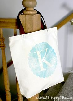 DIY Canvas Tote Revamp! | One Good Thing by Jillee