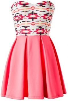 Sleeveless sweetheart pleated skater dress100% Polyester