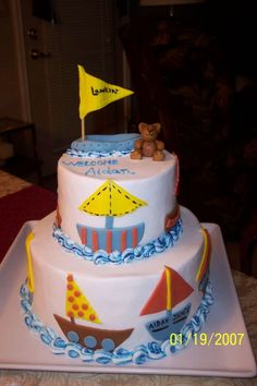 Baby Shower Cake~boy