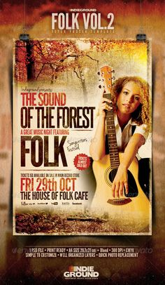 Folk Flyer/Poster Vol. 2 - GraphicRiver Item for Sale