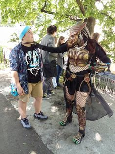 Successful hunting Female Predator Cosplay
