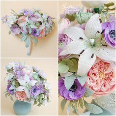Christine Paper Design - it\'s me Flower Crafts, Diy Flowers, Paper Floral Arrangements, Paper Bouquet, Crepe Paper Flowers, Paper Art, Origami, Centerpieces, Projects To Try