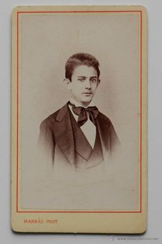 Joven lisboeta, Marrào Phot. Lisboa, finales 1800s -  El Desván de Bartleby C/.Niebla 37. Sevilla