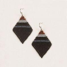 Diamond Beaded Earrings **Altiplano