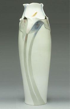 Art Nouveau Porcelain c1900-1903, designer Nils Emil Lundström, maker Rörstrand
