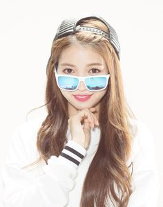 Red Bull Eyewear's Look Book with #GFRIEND 's Sowon❤