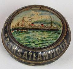 Miniature French tin
