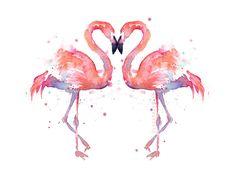 Flamingo Art-Olechka Design