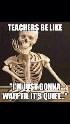 67 Hilarious Teacher Memes - Teachers are patient.