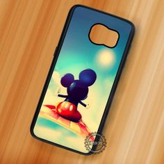 Flying In The Sky Mickey Mouse - Samsung Galaxy S7 S6 S5 Note 7 Cases & Covers