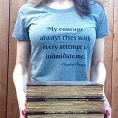 Pride and Prejudice Shirt | FREE SHIPPING Jane Austen Book Word Inspirational Quote Tshirt | Classic Literature Gift Women's Fashion by theavantmarket on Etsy https://www.etsy.com/listing/489729947/pride-and-prejudice-shirt-free-shipping