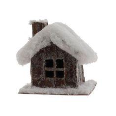 """- White/Brown - Made of Cardboard/Twig - Measures 5""""x4.5""""x3"""" - - We help you make Everything PerfectlyFestive for the Holidays! - We greatly appreciate your business! - Part #: 3252408 - RAZ Imports -"""
