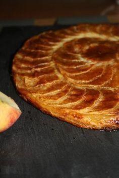 Tarte fine aux pommes, façon Michalak