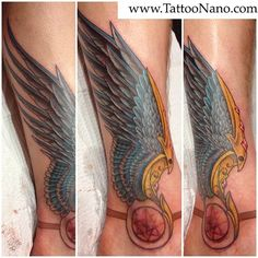 Hermes wing tattoo