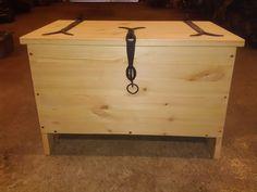 viking inspired chest made of pine
