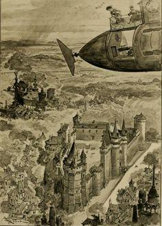 Albert Robida. Le vingtième siècle: la vie électrique (1893)