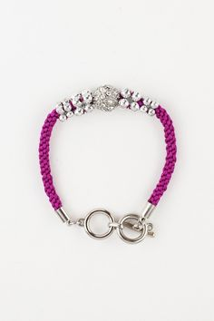 Dressing Your Truth - Type 4 True Colors Bracelet Fuschia. Maybe blue, not fuschia. And gold. I'm T1/T4
