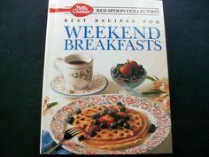 Betty Crocker Weekend Breakfast 1991 HC 1st ed. (62714-860)