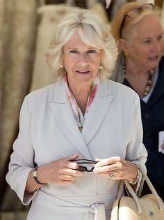 Camilla, Duchess of Cornwall attends the Royal Windsor Horse show in the private grounds of Windsor Castle on May 13, 2015 in Windsor, England.