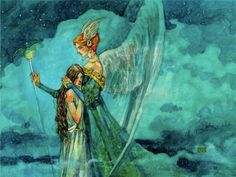 Magic the Gathering! — rikkafish: Art of Magic the Gathering by Rebecca. Fantasy Paintings, Fantasy Artwork, Mtg Art, Fairytale Art, Soul Art, High Fantasy, Monster, Magic The Gathering, Faeries