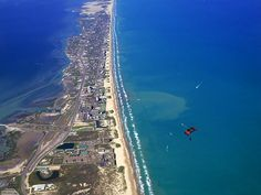 South Padre Island is off the coast of Texas and very close to Mexico. Take a quick trip here this year; you won't even need a passport.