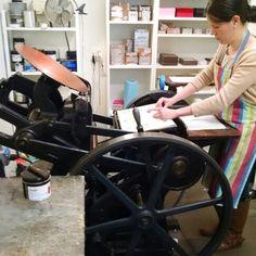 Back by Popular Demand - Idea Chic Letterpress Classes – Idea Chíc Online Gifts, Letterpress, Four Square, Denver, Birthday Cards, Colorado, Stationery, Printing Press, Lettering