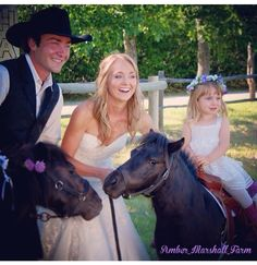 Did u know Amber's flower girl is the daughter of Michelle Morgan who plays Lou on Heartland?