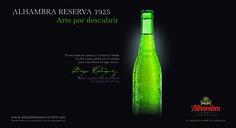 Cervezas Alhambra, producto oficial del 43 Torneo Internacional Land Rover de Polo. Alhambra Reserva 1925 #ArtePorDescubrir.