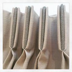 Triple pleats